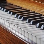 Piano keyboard — Stock Photo #78796422