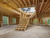 New house interior construction — Stock Photo