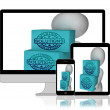 Solutions Boxes Displays Solving Market And Product Problems — Stock Photo #53004983