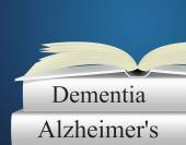 Dementia Alzheimers Represents Alzheimer's Disease And Confusion — Stock Photo