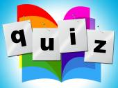 Quiz Questions Means Faqs Frequently And Quizzes — Stock Photo