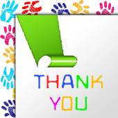 Thank You Represents Many Thanks And Grateful — Stock Photo