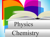 Chemistry Physics Shows Fiction Research And Chemicals — Stock Photo