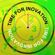 Time For Innovation Represents Concepts Inventions And Thoughts — Stock Photo #53360409
