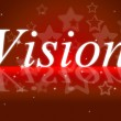 Постер, плакат: Goals Vision Indicates Aspire Prediction And Objectives