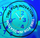 Time For Innovation Represents Create Creativity And Concepts — Stock Photo