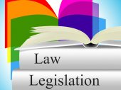 Legislation Law Represents Legality Crime And Juridical — Stock Photo