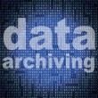 Data Archiving Means Catalog Catalogue And Bytes — Stock Photo #54206721