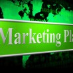 Постер, плакат: Plan Marketing Shows Scenario Advertising And Proposition