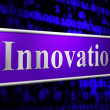 Постер, плакат: Ideas Innovation Indicates Invention Creativity And Concepts