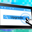 Online Upgrade Indicates World Wide Web And Refurbish — Stock Photo #54206765