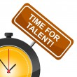������, ������: Time For Talent Represents Strong Point And Skill