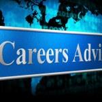 Career Advice Indicates Line Of Work And Advisory — Stock Photo #54208357