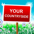 Your Countryside Means Natural Owned And Own — Stock Photo #54208787