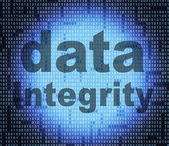 Integrity Data Shows Reliable Sincerity And Uprightness — Stock Photo