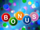 Reward Bonus Shows For Free And Award — Stockfoto