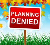 Planning Denied Means Missions Aim And Objective — Photo