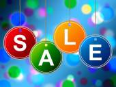 Kids Sale Shows Offer Retail And Cheap — Stock Photo