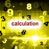 Counting Mathematics Indicates One Two Three And Arithmetic — Stock Photo