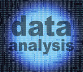 Data Analysis Indicates Fact Facts And Analyse — Stock Photo