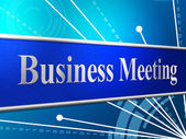 Meetings Business Shows Gathering Assembly And Commercial — Stockfoto