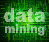 Data Mining Indicates Research Study And Analyse — Foto de Stock