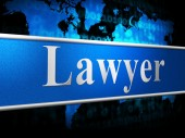 Lawyer Law Shows Crime Judicial And Judiciary — Stock Photo