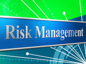 Management Risk Indicates Directorate Failure And Directors — Stock Photo