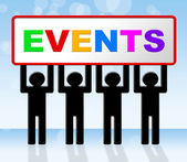 Event Events Represents Function Affair And Affairs — Stock Photo
