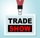 Trade Show Shows Corporate Purchase And Biz — Stock Photo