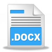 Document File Represents Records Data And Archives — Stock Photo