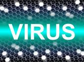 Virus Word Means Preventive Medicine And Doctors — Stock Photo