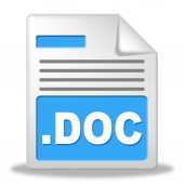 Document File Represents Archives Correspondence And Folders — Stok fotoğraf