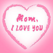Mom Love Represents Boyfriend Mother And Fondness — Foto Stock