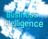 Business Intelligence Shows Know How And Biz — Photo