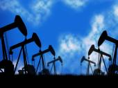 Oil Wells Represents Extraction Drill And Oilwell — Stock Photo