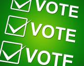 Vote Ticks Indicates Choosing Voting And Choose — Stock Photo