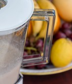 Fruit Smoothie Represents Milk Shake And Blended — Stockfoto