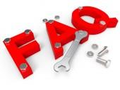 Faq Online Indicates World Wide Web And Advisor — Stock Photo