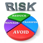 Reducing Risk Indicates Unsafe Hazard And Insecurity — Stock Photo