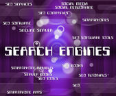 Search Engines Means Gathering Data And Analyse — Stock Photo