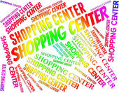 Shopping Center Shows Retail Sales And Commerce — Stock Photo