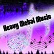 Постер, плакат: Heavy Metal Music Shows Led Zeppelin And Headbangers