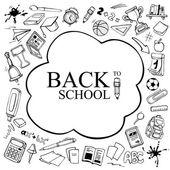 Back to School vector picture — Stock Vector