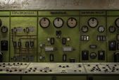 Control panel in a science institute — Stock Photo