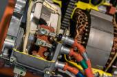 Opened switch gear of a car — Stockfoto