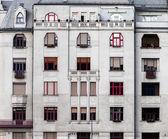 Closeup photo of a building — Foto Stock