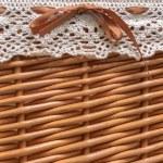 Small basket closeup photo — Stock Photo #58564371