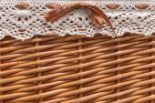 Small basket closeup photo — Photo