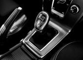 Closeup photo of car gearbox — Zdjęcie stockowe